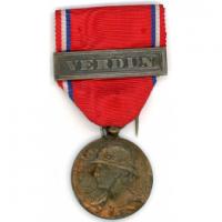 Medaille de verdun modele prudhomme 1